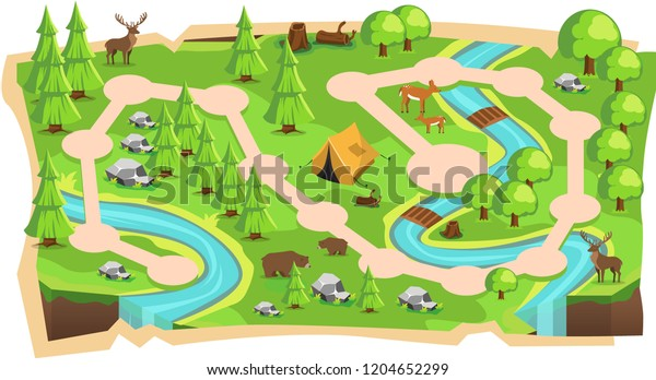 Forest Jungle 2d Game Maps Path Stock Vector (Royalty Free ... on made up maps, snes maps, google maps, cool site maps, metro bus houston tx maps, fictional maps, epic d d maps, interesting maps, cartography maps, mmo maps, fishing maps, all of westeros maps, dragon warrior monsters 2 maps, jrpg maps, prank maps, bully scholarship edition cheats maps, house maps, simple risk maps, all the locations of the death camp maps, dvd maps,