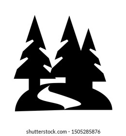 forest road icon - From Travel, vacation and tourism icons, hotel icons