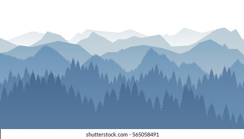 forest silhouette