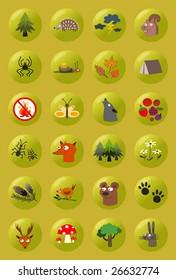 Forest symbols