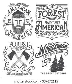 forester graphic set for tee