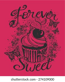 Forever Sweet Girls T-Shirt Graphic