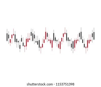 Forex market symbol illustration