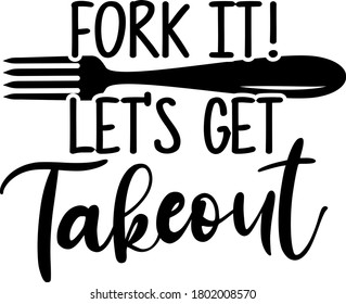 Fork it! Let's get Takeout quote. Fork vector