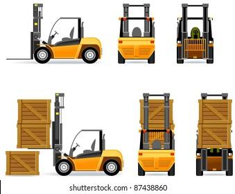 Forklift (Set #42).