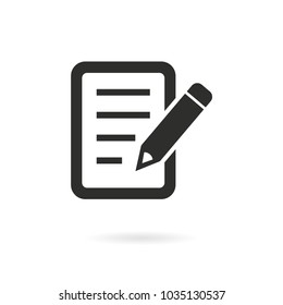 Form vector icon. Black illustration isolated for graphic and web design.