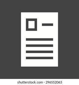 Forms, report, questionaire icon vector image. Can also be used for education, academics and science. Suitable for use on web apps, mobile apps and print media.
