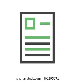 Forms, report, questionaire icon vector image. Can also be used for education, academics and science. Suitable for use on web apps, mobile apps, and print media.