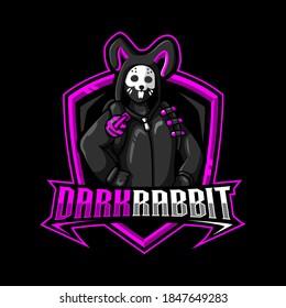 Fortnite Rabbit   Mascot Logo