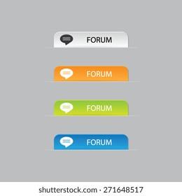 Forum Web Label Tabs
