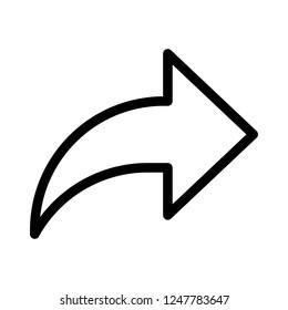 forward email arrow