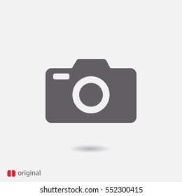 foto camera vector icon
