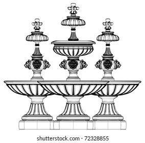 Fountain Vector 07