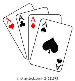 four aces - vector