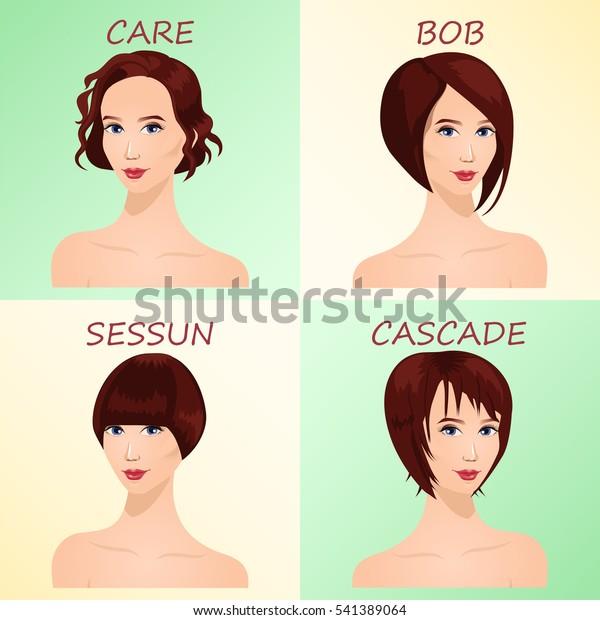 Four Basic Types Short Haircuts Women | People, Beauty/Fashion ...