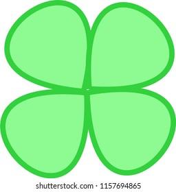 Four Clover Leaf