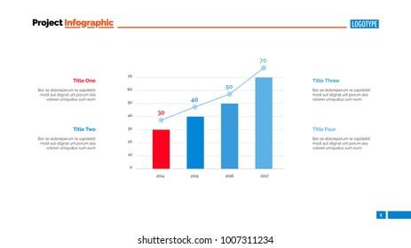 Column Graph Chart Template Infographics Full Stock Vector Royalty