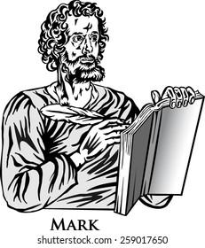 The four Evangelists. Saint Mark.