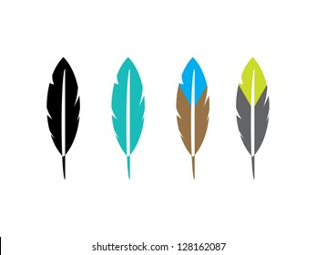 Four Feather Icons.