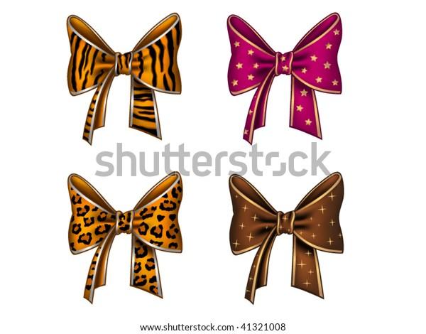 Four fun bows