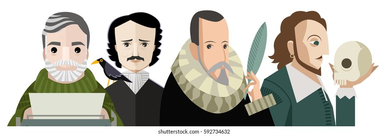 four great writers