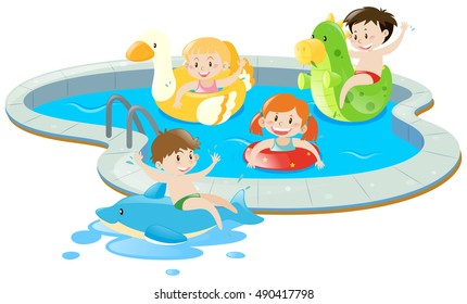 Swimming Pool Clipart Images, Stock Photos & Vectors | Shutterstock
