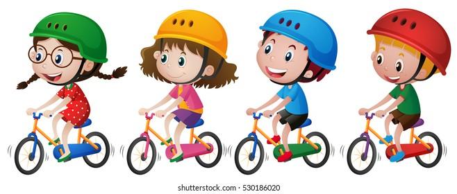 Kids Bike Images Stock Photos Vectors