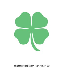 four leaf clover, St Patricks day vector