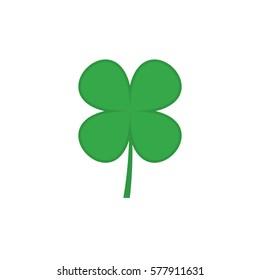 Four leaf clover vector icon