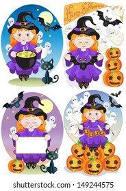 Four Little Witches