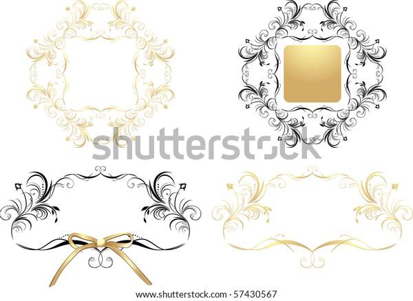 four-patterns-decorative-frames-vector-6