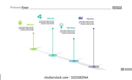 Four Point Diagram Slide Template