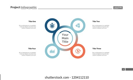 Four points process chart. Business data. Strategy, diagram, design. Creative concept for infographic, templates, presentation, report. Can be used for topics like planning, management, teamwork.