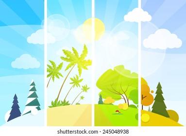 Imágenes Fotos De Stock Y Vectores Sobre 4 Seasons