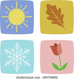 Four Seasons Icons Color