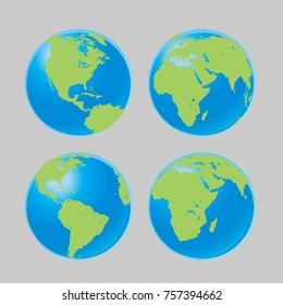 four side earth
