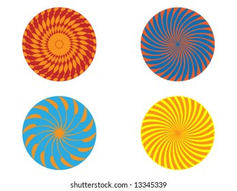 Four swirls concept