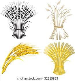 four wheat sheaf