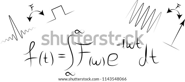 Fourier transform formula with common signal transformations