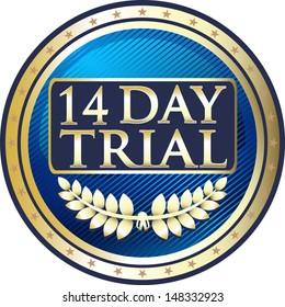 Fourteen Day Trial Blue Medal