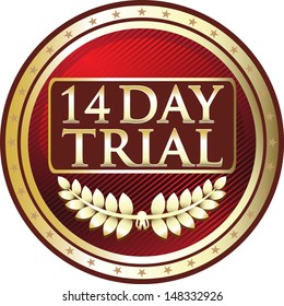 Fourteen Day Trial Red Medal