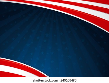 Fourth of July Background America