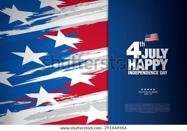 cuarto de julio. día de la independencia feliz