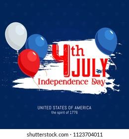 Fourth of july independence day celebration of United States