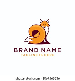 Fox Abstract template logo design
