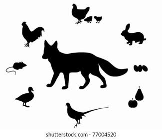 Fox diet