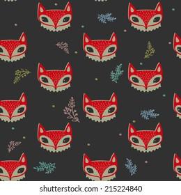 fox face pattern