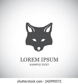 Fox head - vector illustration