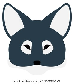 Fox Isolated Vector Illustration which can be easily modified or edit