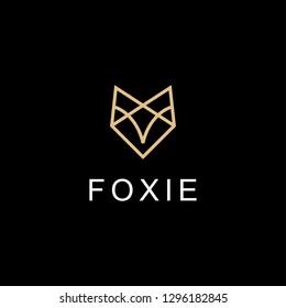 fox line logo design